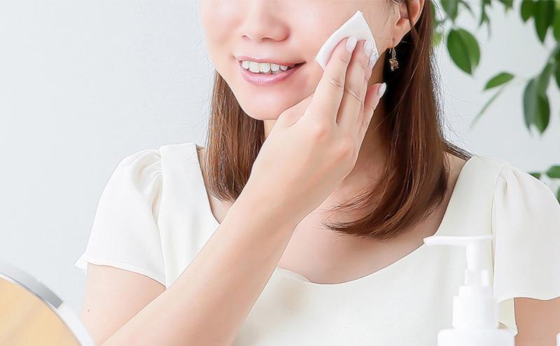 ふき取り化粧水の使い方